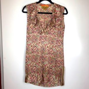 Karen Zambos Vintage Couture Phoebe Silk Dress SM
